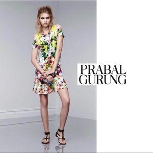 Prabal Gurung First Date Multi Color Dress